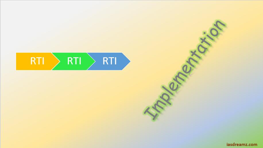 RTI Act monitoring mechanism