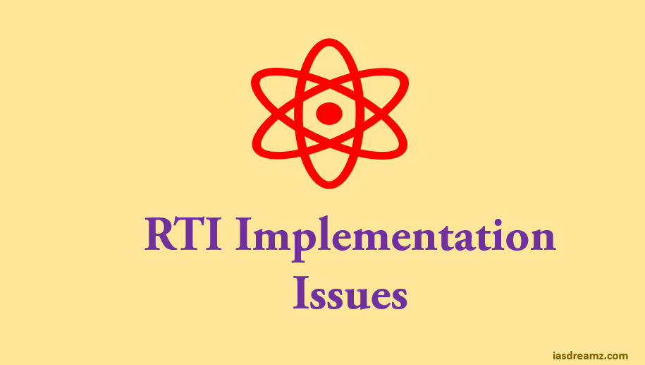 Issues in Implementation of the RTI Act: PART V