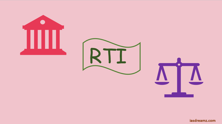 Application of the RTI act to the legislature and the judiciary